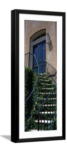 Low Angle View of a House, Savannah, Georgia, USA--Framed Art Print