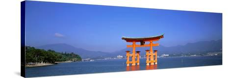 Otorii (Grand Gate) of Itsukushima Shrine Miyajima Hiroshima Japan--Stretched Canvas Print