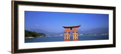 Otorii (Grand Gate) of Itsukushima Shrine Miyajima Hiroshima Japan--Framed Art Print