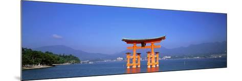 Otorii (Grand Gate) of Itsukushima Shrine Miyajima Hiroshima Japan--Mounted Photographic Print