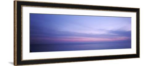 Clouds over the Ocean, Atlantic Ocean, Bermuda, USA--Framed Art Print