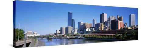 Melbourne Australia--Stretched Canvas Print