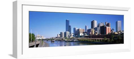 Melbourne Australia--Framed Art Print