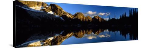 Wica Lake and Valhalla Range British Columbia Canada--Stretched Canvas Print