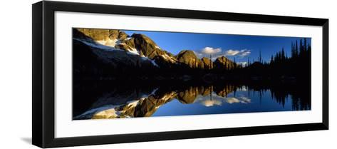 Wica Lake and Valhalla Range British Columbia Canada--Framed Art Print