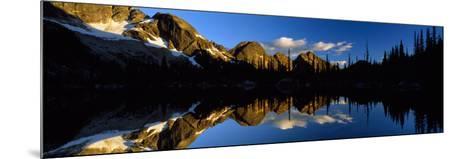 Wica Lake and Valhalla Range British Columbia Canada--Mounted Photographic Print