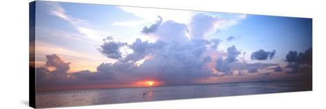 Seascape the Maldives--Stretched Canvas Print