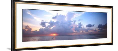 Seascape the Maldives--Framed Art Print