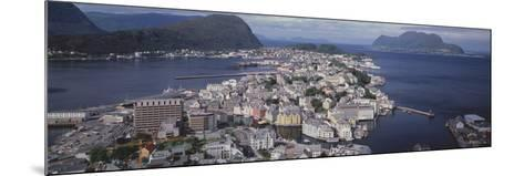 Cityscape Alesund Norway--Mounted Photographic Print