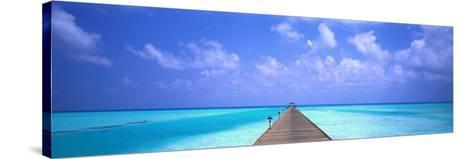 Holiday Island Maldives--Stretched Canvas Print