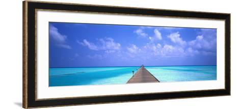 Holiday Island Maldives--Framed Art Print