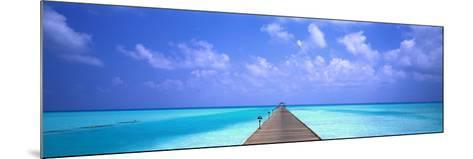 Holiday Island Maldives--Mounted Photographic Print
