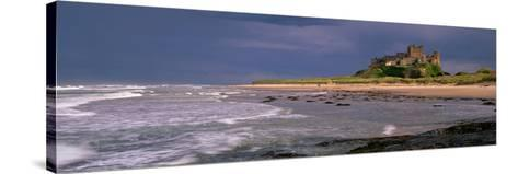 Bamburgh Castle Northumberland England--Stretched Canvas Print