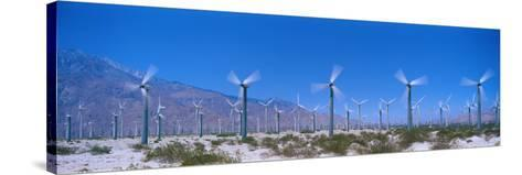 Wind Generators Near Palm Springs California USA--Stretched Canvas Print
