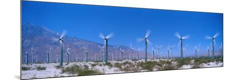 Wind Generators Near Palm Springs California USA--Mounted Photographic Print
