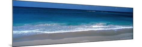 Waters Edge Barbados Caribbean--Mounted Photographic Print