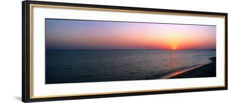 Seascape the Algarve Portugal--Framed Art Print