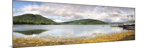 Ship at the Inveraray Maritime Museum, Inveraray, Loch Fyne, Argyll and Bute, Scotland--Mounted Photographic Print