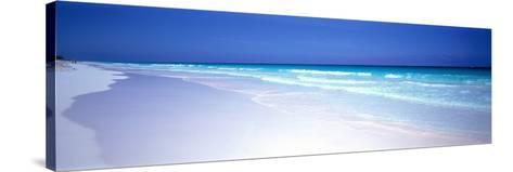 Pink Sand Beach Harbour Island Bahamas--Stretched Canvas Print