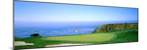 Pebble Beach Golf Course, Pebble Beach, Monterey County, California, USA--Mounted Photographic Print