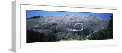 Stone Mountain Atlanta Ga--Framed Art Print