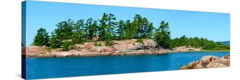Trees on an Island, Red Island, Killarney, Ontario, Canada--Stretched Canvas Print