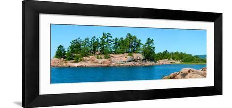 Trees on an Island, Red Island, Killarney, Ontario, Canada--Framed Art Print
