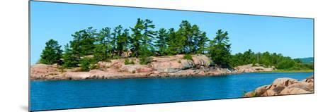 Trees on an Island, Red Island, Killarney, Ontario, Canada--Mounted Photographic Print