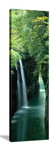 Waterfall Miyazaki Japan--Stretched Canvas Print
