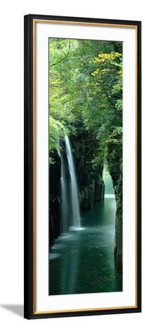 Waterfall Miyazaki Japan--Framed Art Print