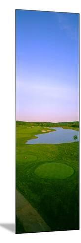 Aerial View of a Golf Course, Caves Valley Golf Club, Owings Mills, Baltimore County, Maryland, USA--Mounted Photographic Print