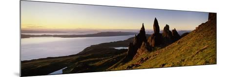 Rock Formations on the Coast, Old Man of Storr, Trotternish, Isle of Skye, Scotland--Mounted Photographic Print