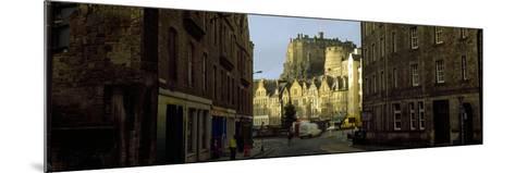 Castle in a City, Edinburgh Castle, Edinburgh, Scotland--Mounted Photographic Print