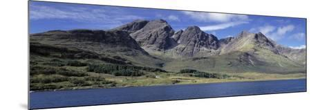 Hills, Cuillins, Loch Slapin, Isle of Skye, Scotland--Mounted Photographic Print