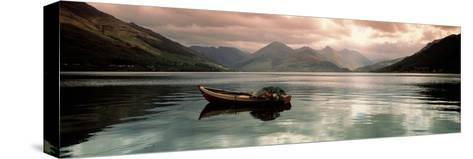Lake Duich Highlands Scotland--Stretched Canvas Print