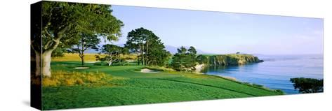 Pebble Beach Golf Course, Pebble Beach, Monterey County, California, USA--Stretched Canvas Print