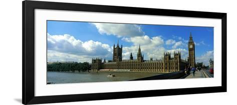 Houses of Parliament London England--Framed Art Print