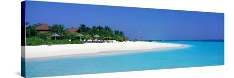 Laguna Beach Maldives--Stretched Canvas Print
