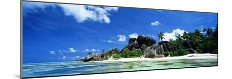 La Digue Seychelles--Mounted Photographic Print