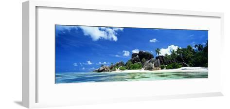 La Digue Seychelles--Framed Art Print