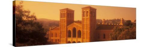 Royce Hall at an University Campus, University of California, Los Angeles, California, USA--Stretched Canvas Print