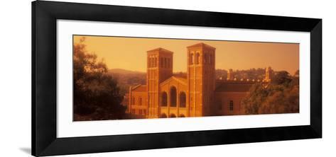 Royce Hall at an University Campus, University of California, Los Angeles, California, USA--Framed Art Print