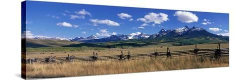 Scene Along Last Doller Road North of Telluride Colorado USA--Stretched Canvas Print