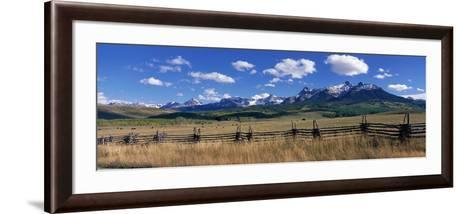 Scene Along Last Doller Road North of Telluride Colorado USA--Framed Art Print