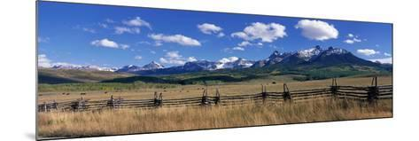 Scene Along Last Doller Road North of Telluride Colorado USA--Mounted Photographic Print