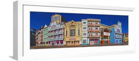Boardwalk, Atlantic City, New Jersey, USA--Framed Art Print