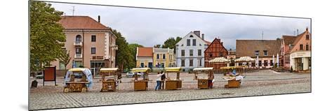 Buildings in a City, Klaipeda, Lithuania--Mounted Photographic Print