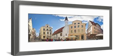 Buildings in a City, Tallinn, Estonia--Framed Art Print