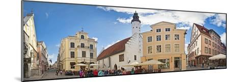 Buildings in a City, Tallinn, Estonia--Mounted Photographic Print