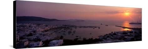 Mykonos Greece--Stretched Canvas Print